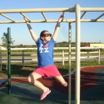 Rest stop monkey bars